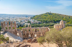 Odeon Herodes Atticus Theater Royalty Free Stock Photography
