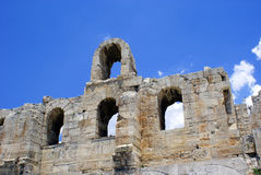The Odeon of Herodes Atticus - theatre Stock Photo