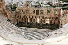 Odeon of Herodes Atticus,theatre,Acropolis Stock Photos