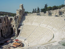 The Odeon Of Herodes Atticus Theatre, Greece Stock Image