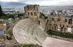 Odeon of Herodes Atticus Stock Photos