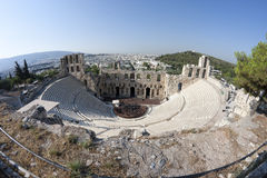 Free Odeon Of Herodes Atticus Royalty Free Stock Image - 18009046