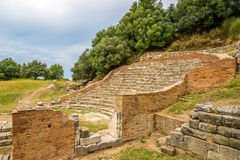 Odeon Theater of Apollonia. Royalty Free Stock Images