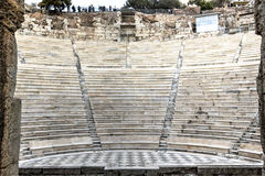Odeon Theatre in Athens, Greece Stock Photo