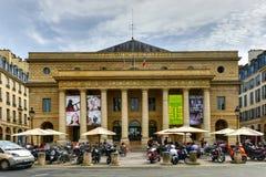 Odeon-Theatre de l`Europe stock photography