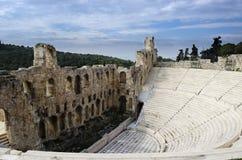 Odeon van Herodes Atticus Royalty-vrije Stock Afbeelding