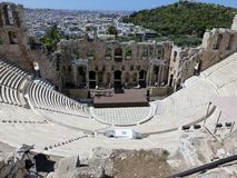 Odeon von Herod-Atticus Stockfotos
