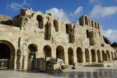 Odeon von Herodes Atticus Lizenzfreie Stockfotografie