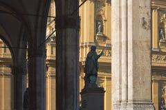 Odeonsplatz in Munich Royalty Free Stock Images