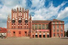 Oder ιστορικό Δημαρχείο Στοκ φωτογραφία με δικαίωμα ελεύθερης χρήσης