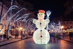 Odesa, Ucrania - enero, 7, 2018: Decoración de la Navidad y del Año Nuevo Fotos de archivo libres de regalías