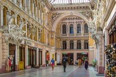 odessa Проход гостиницы, и на первом этаже ходит по магазинам Стоковое фото RF