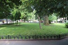Odessa City Garden immagini stock libere da diritti