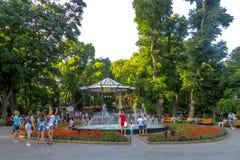 Odessa City Garden royalty-vrije stock afbeelding