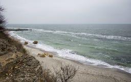Odessa czerni morze Obrazy Stock