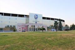 Odessa, de Oekra?ne Het Cornomorec-stadion is de belangrijkste sportenfaciliteit in Odessa royalty-vrije stock fotografie