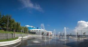 Odessa Dolphinarium in de Oekraïne stock foto