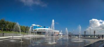 Odessa Dolphinarium in de Oekraïne royalty-vrije stock afbeelding
