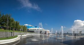 Odessa Dolphinarium en Ukraine photo stock