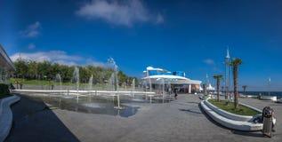 Odessa Dolphinarium en Ukraine photographie stock