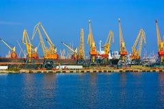 Odessa harbor Stock Image