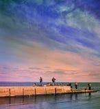 Odessa hav Arkivfoton