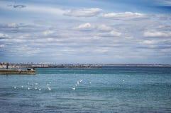 Odessa hav Arkivbild