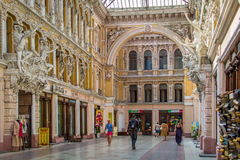 Odessa. Hotel Passage, and on the first floor shops. royalty free stock photo