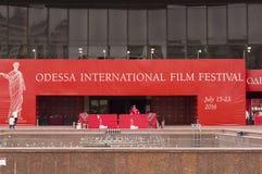 Odessa International Film Festival Royaltyfria Foton