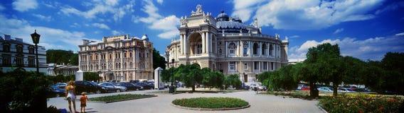 Odessa Krajowy Akademicki teatr opera i balet Zdjęcia Royalty Free
