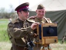ODESSA, les membres de l'histoire militaire Photo stock