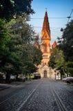 Odessa Lutheran St Paul-` s Kathedrale des Deutschen Lizenzfreie Stockbilder