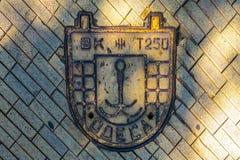 Odessa Manhole Cover photographie stock