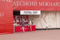 Odessa Międzynarodowy Ekranowy festiwal Fotografia Stock