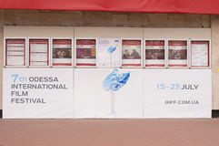 Odessa Międzynarodowy Ekranowy festiwal Zdjęcia Royalty Free