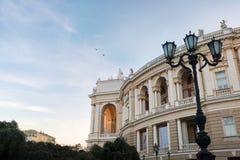 Odessa National Academic Theater de Opera e bailado em Ucrânia fotos de stock royalty free
