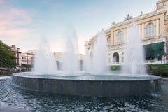 Odessa National Academic Theater de Opera e bailado em Ucrânia imagem de stock