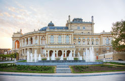 Odessa National Academic Theater of Opera and Ballet Stock Images