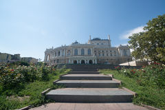 Odessa National Academic Theater of Opera and Ballet Royalty Free Stock Photography
