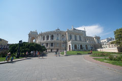 Odessa National Academic Theater of Opera and Ballet Stock Photos
