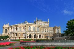 Odessa National Academic Theater - Odessa, Ucrânia imagens de stock royalty free