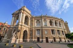 Odessa National Academic Theater - Odessa, Ucrânia fotos de stock royalty free