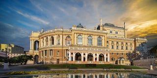 Odessa National Academic Theater in Ukraine Royalty Free Stock Photos