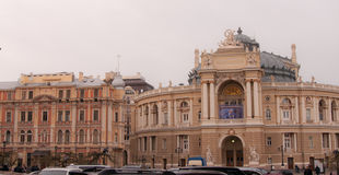 The Odessa National Academic Theatre of Opera and Ballet Stock Images