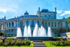 Odessa National Theater 02 lizenzfreie stockfotos