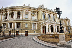 Odessa National Theater of Opera and Ballet Stock Image