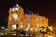 Odessa Opera and Ballet Theater Stock Photography