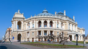Odessa Opera and Ballet Theater Royalty Free Stock Photos