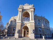 Odessa Opera and Ballet Theater Royalty Free Stock Images