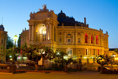Odessa Opera and Ballet Theater Stock Photo